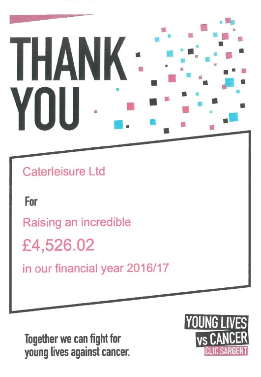 CLIC SARGENT_funds raised